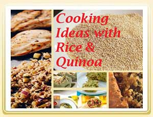 15 Cooking Ideas with Rice and Quinoa Recipes