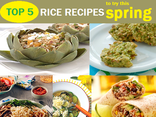 Top 5 Rice Recipes to Try this Spring