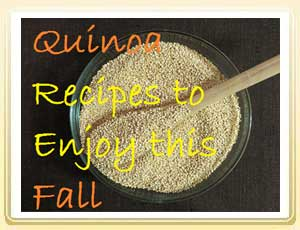 3 Links to Quinoa Recipes To Enjoy This Fall
