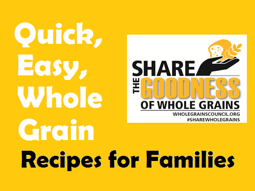 It is September, It is Whole Grains Month!