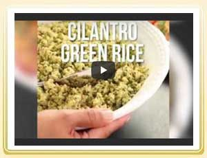 Rice Cooking Tips: How to Cook Cilantro Green Rice