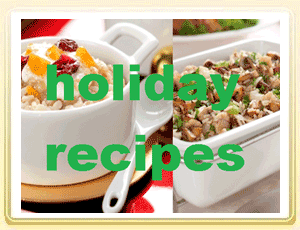 Holiday Cooking with Two Awesome Rice Recipes