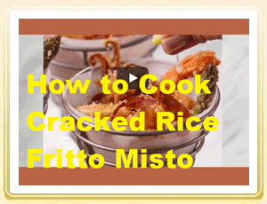 How to Cook Cracked Rice Fritto Misto