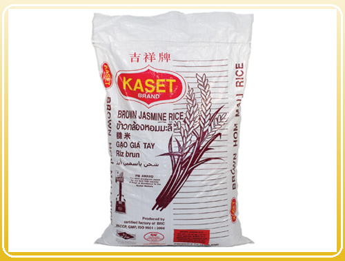 KASET ​Thai Brown Jasmine Rice