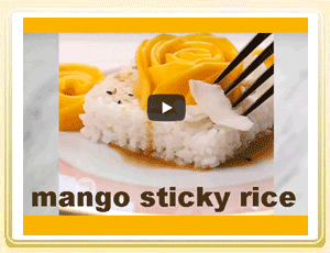 Recipe Video: Mango Sticky Rice