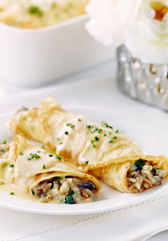 Herbed Crepes